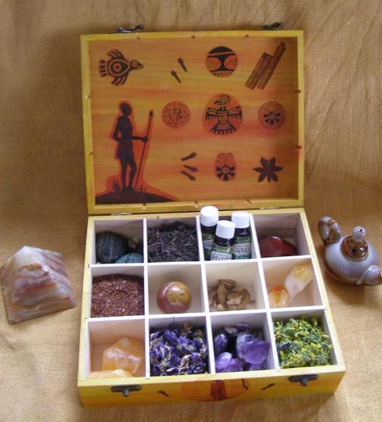 Krabica na čaj Źltá1