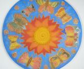 Kruh Motýle 25 cm