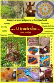 E-shop - časť Kurzy a workshopy v Podpoľaní