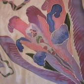 Kvetinková víla v ružovom