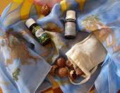 Mydlové orechy a hodváb