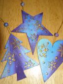 Vianočné oozdoby drevené - maľované