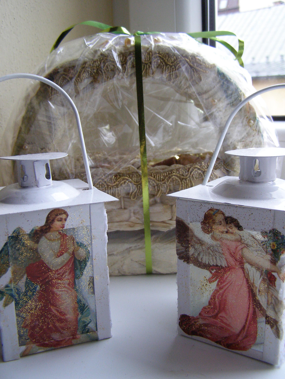 Svietnik s anjelmi