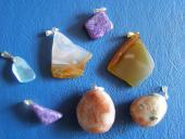 PRívesky Slnečné kamene a iné