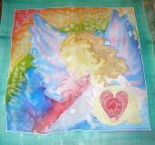 Šatka 55 x 55 cm Anjel Dúhy