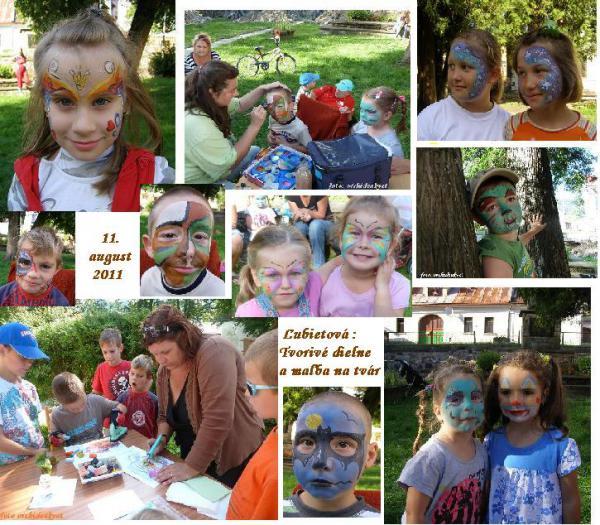 Tvorivé dielne Ľubietová 11.8.2011