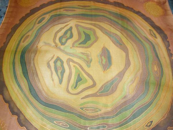 Tvár letokruhu 74 x 74 cm