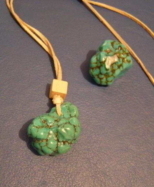 Zelený tyrkys