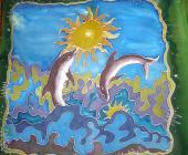 Vankúš Delfíny