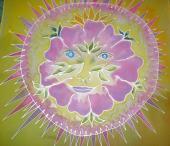 Vankúš Kvet - žltý