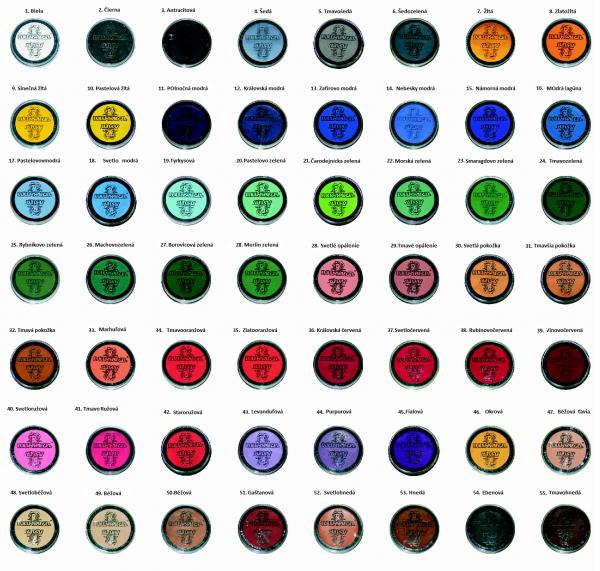 farby základné