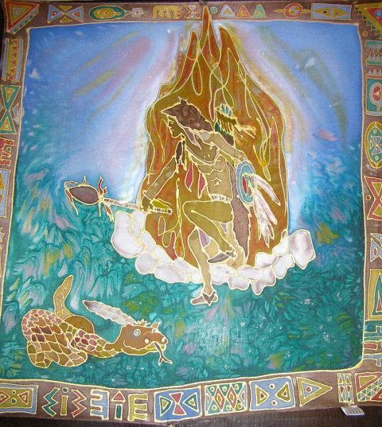 Tanec z Indiánskch rozprávok