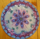 Mandala fialovomodrá
