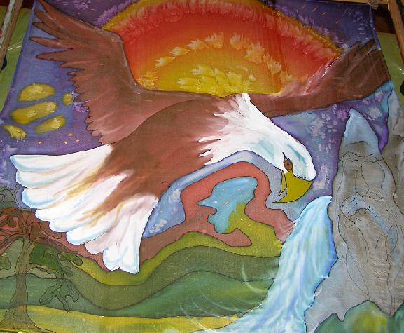 Orol bielohlavý 2